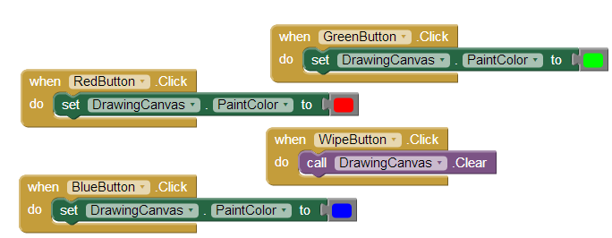 app inventor 2 how to move buttons
